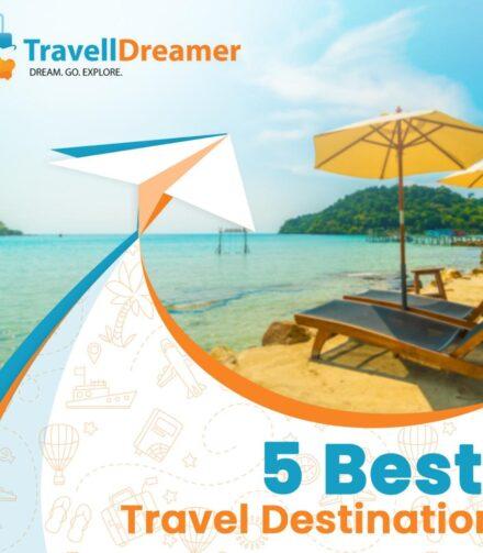 5 best travel destinations in India